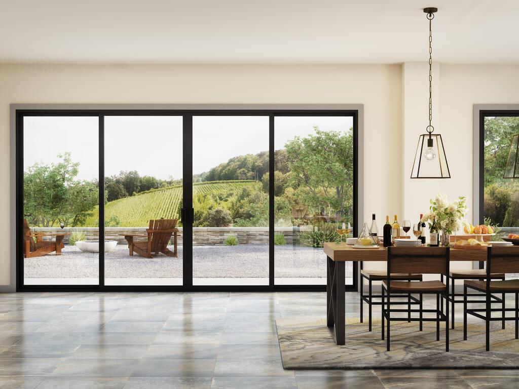 milgard trinsic doors modern look