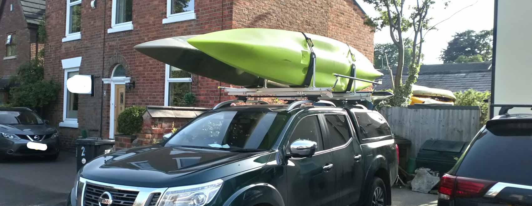 canoe and kayak roof racks rails