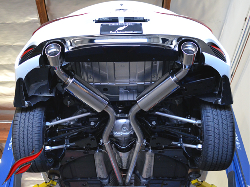 fast intentions q60 3 0l vr30 cat back exhaust