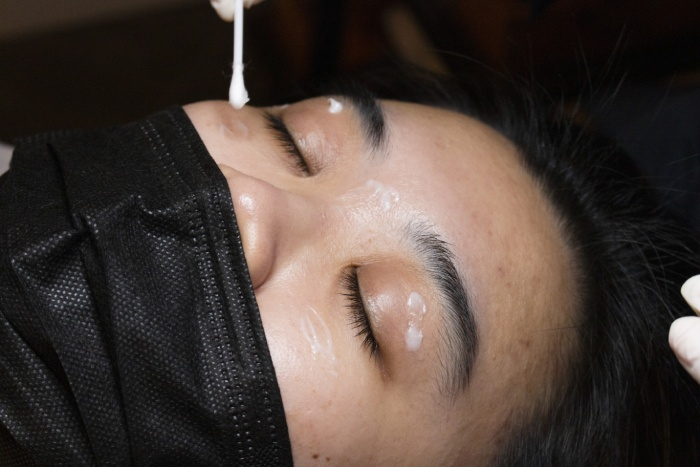 browhaus plasma lift review wide focus eye cream application