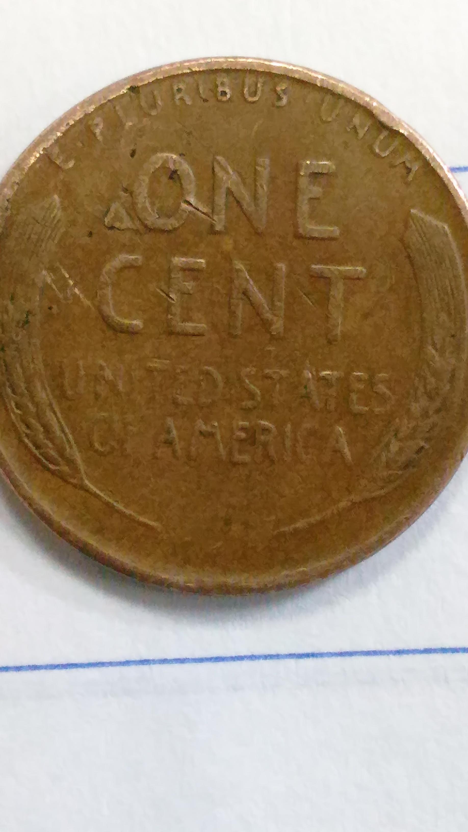 Wheat Rarest Penny Back