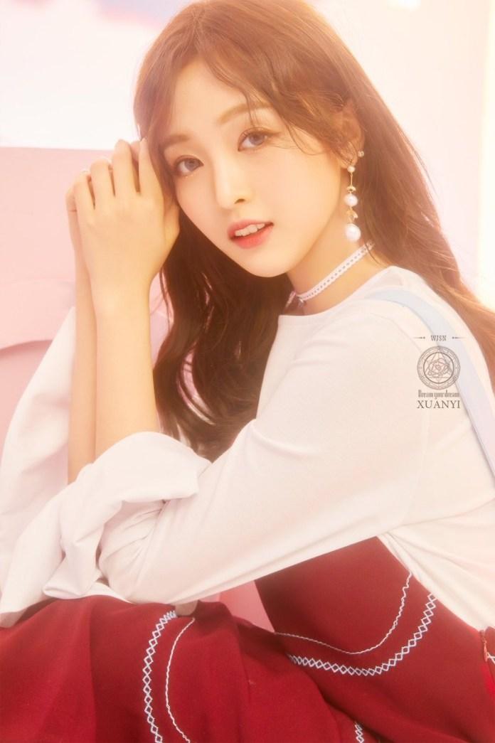 Cô gái vũ trụ Xuân Yi 2018