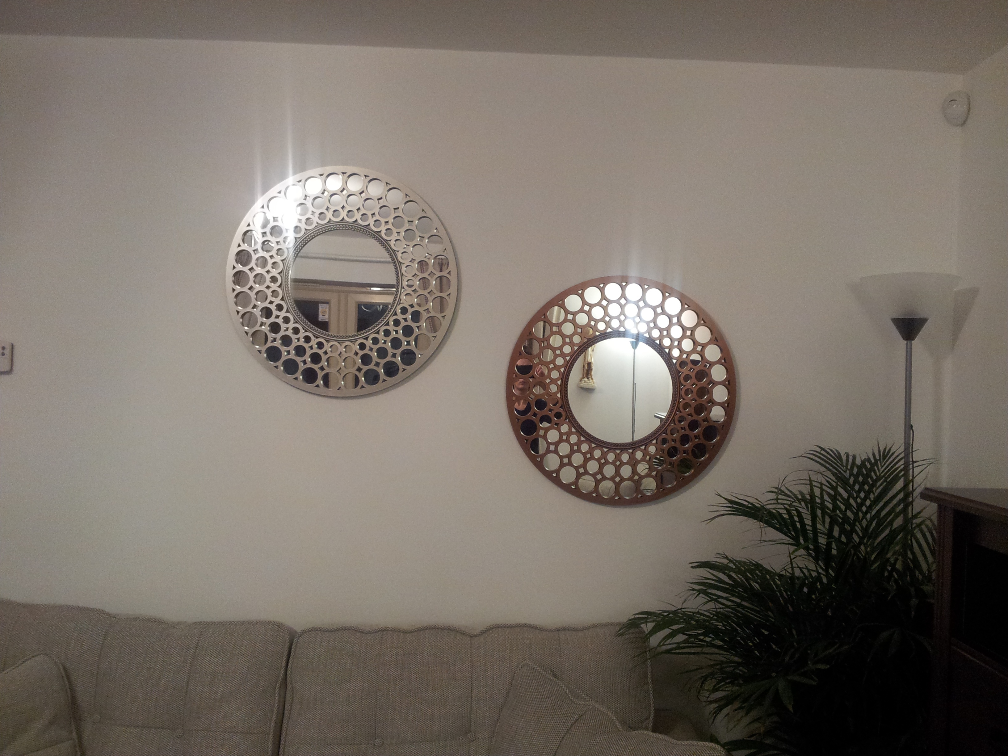 Feng Shui Placement Living Room Mirrors