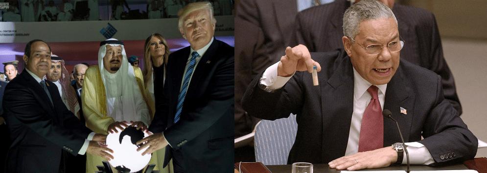 Trump Saudi Crystal Ball