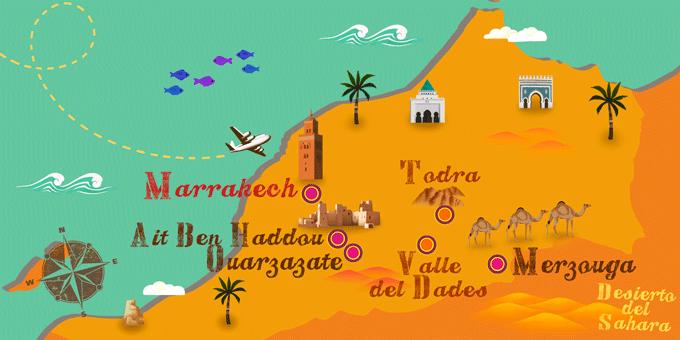 Map United Emirates And Borders Its Arab