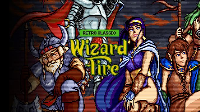 Retro Classix: Wizard Fire
