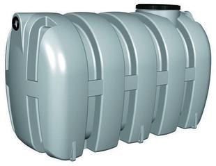 Fosse Septique En Polyethylene Fan 4000l Haut 1 55m Larg 1 53m Long 2 65m Avec