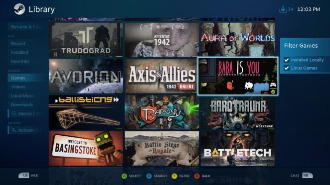 GamerOS, semelhante ao SteamOS, tem um novo lançamento