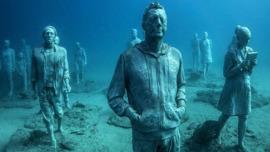 Oceanic Artist Adds a New Wing to Underwater Sculpture Garden