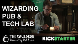 The Cauldron - a Wizarding Pub...