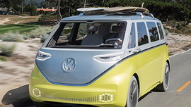 "Volkswagen to Bring Back the ""Magic Bus,"" This Time Electric-Powered"