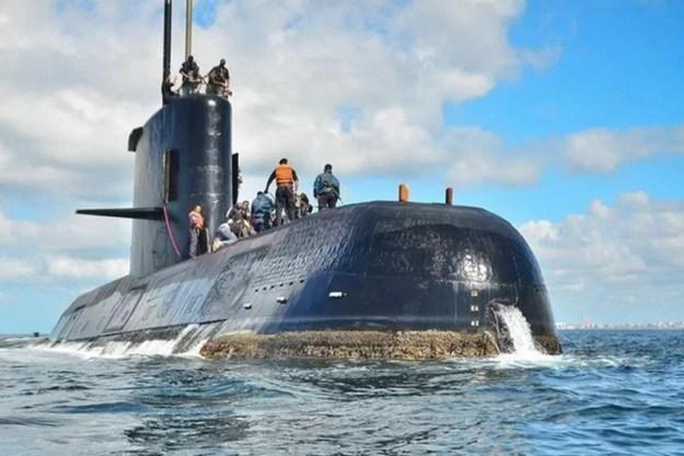 Reprodução/Marinha Argentina, via AP