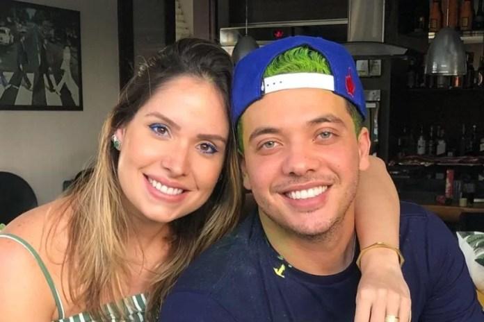 Thyane Dantas and Wesley Safadão