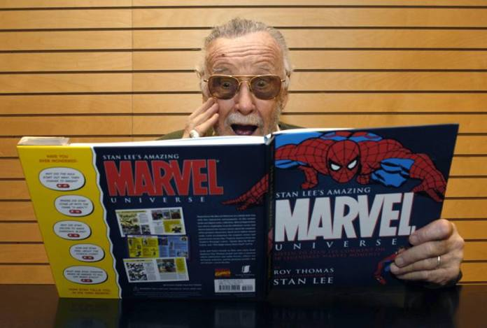 Comic Book Legend Stan Lee Signs Copies Of