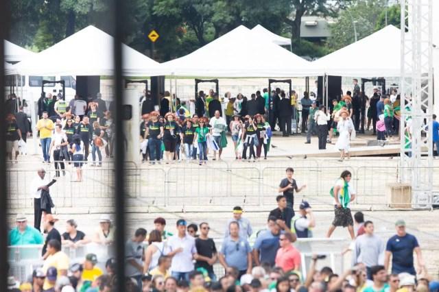 desfile na esplanada