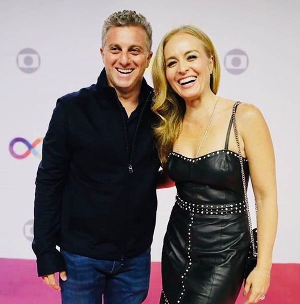 Angelica is married to Luciano Huck