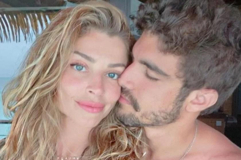 Grazi Massafera and Caio Castro
