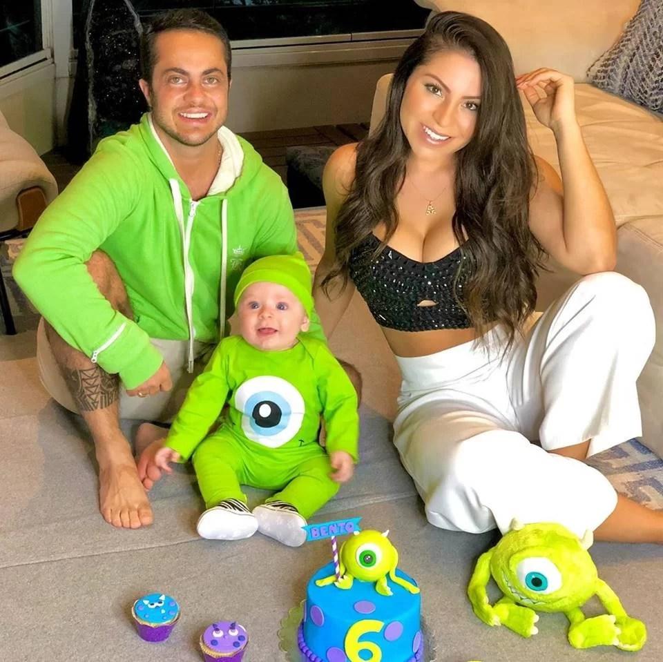 Thammy Miranda e família