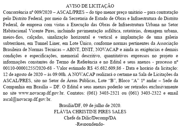 Extrato DODF 13/07/2020