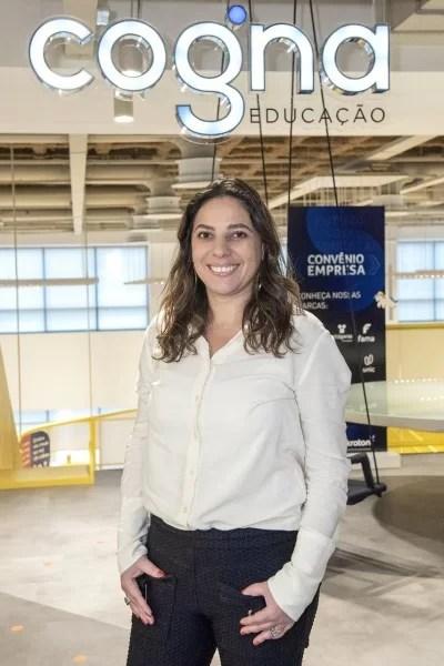 Camilla Veiga, diretora de impacto social da Cogna