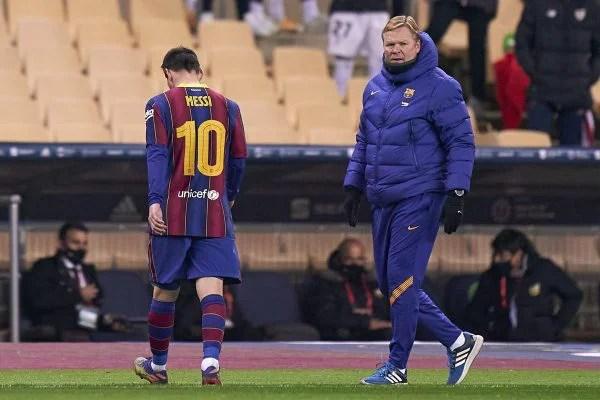 Lionel Messi expulso