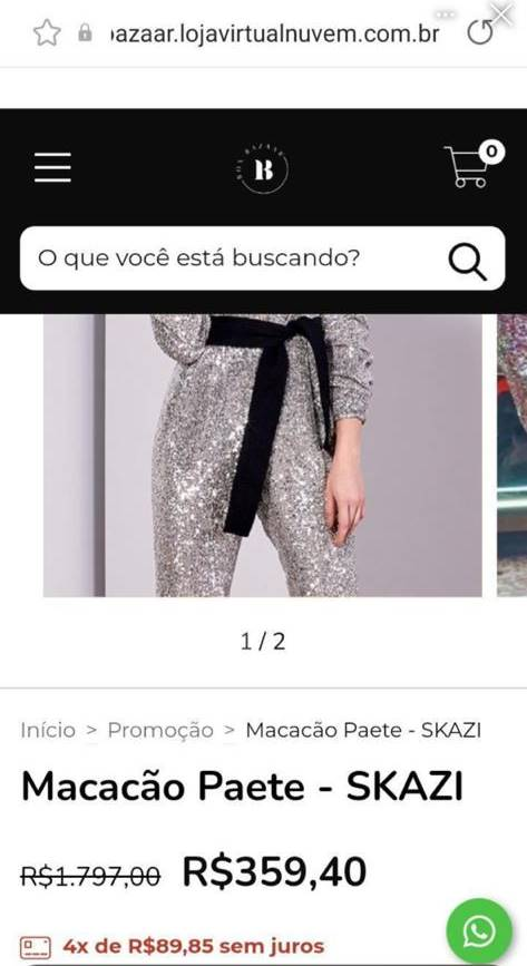 Roupa de Juliette na final do BBB21