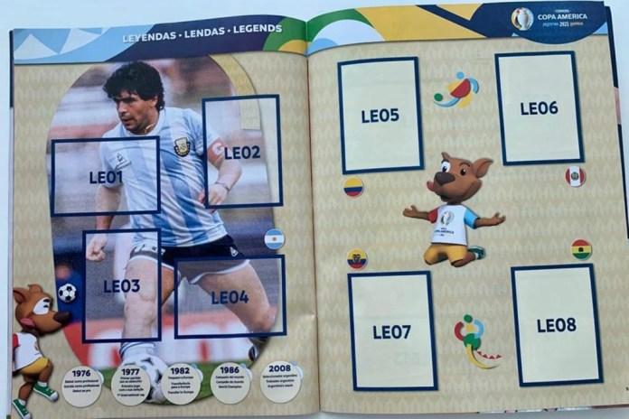 Lendas álbum Maradona