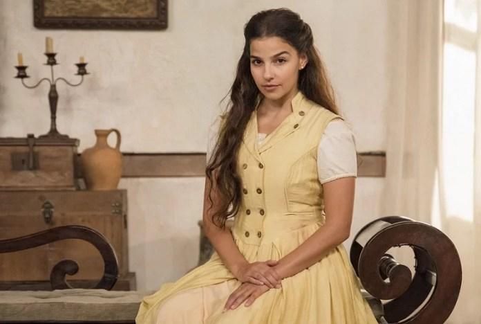 Pilar (Gabriela Medvedovski) em Nos Tempos do Imperador
