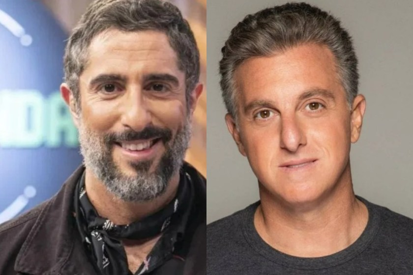 Marcos Mion and Luciano Huck