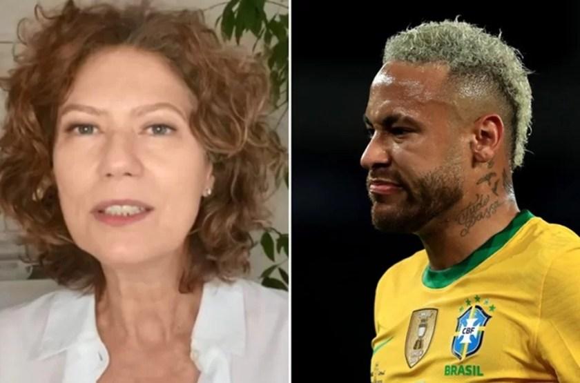 Patricia Pillar and Neymar