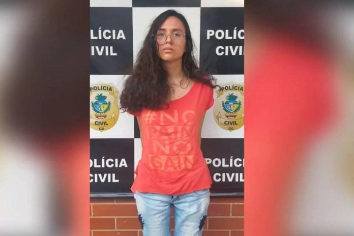 Imagens dos presos pela morte da jovem ariane bárbara laureano, em goiânia