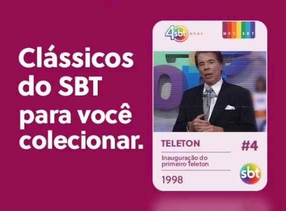 Silvio Santos no Teleton, em 1998
