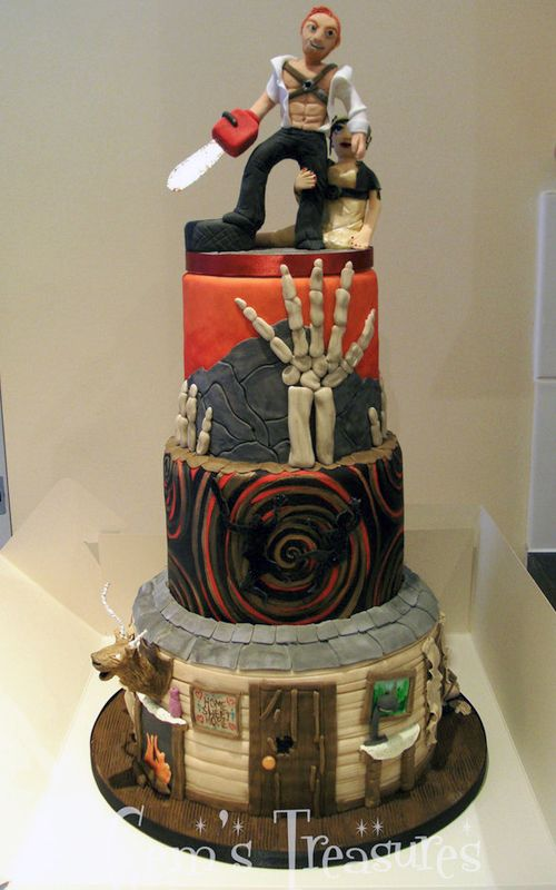 Evil Dead The Wedding Cake Neatorama