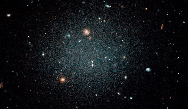 Astronomers Are Baffled Over This Galaxy With No Dark