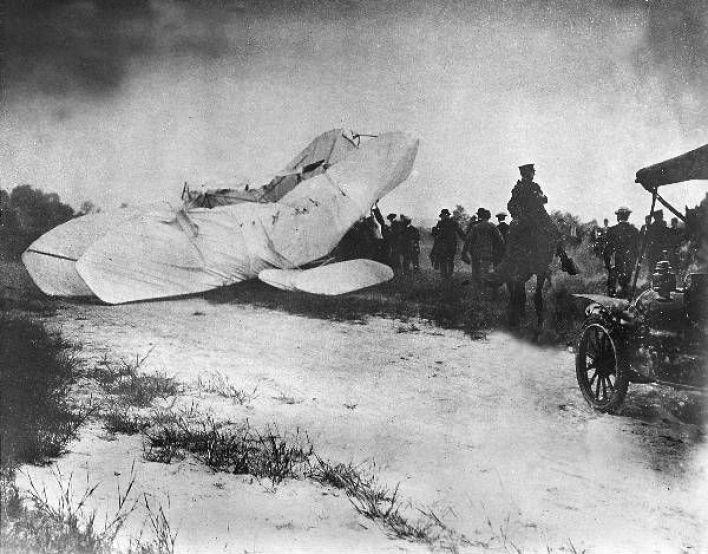 Resultado de imagen para Wright brothers ACCIDENT