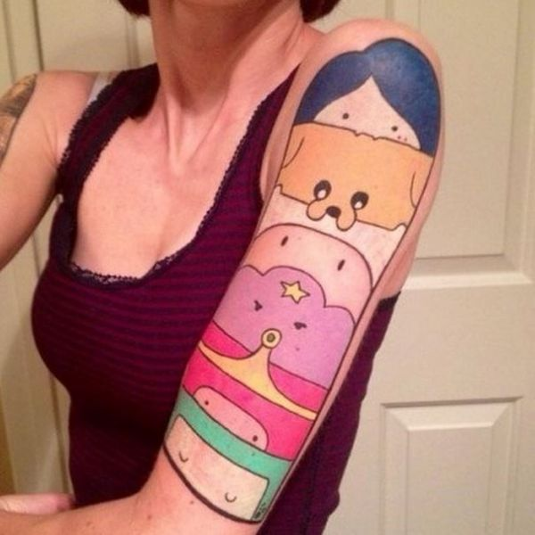 Oh My Glob 33 Great Adventure Time Tattoos Neatorama