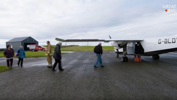 The World's Shortest Commercial Flight - Neatorama