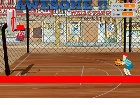 Basketball On Scratch 3 Point Shootout Contest On Scratch