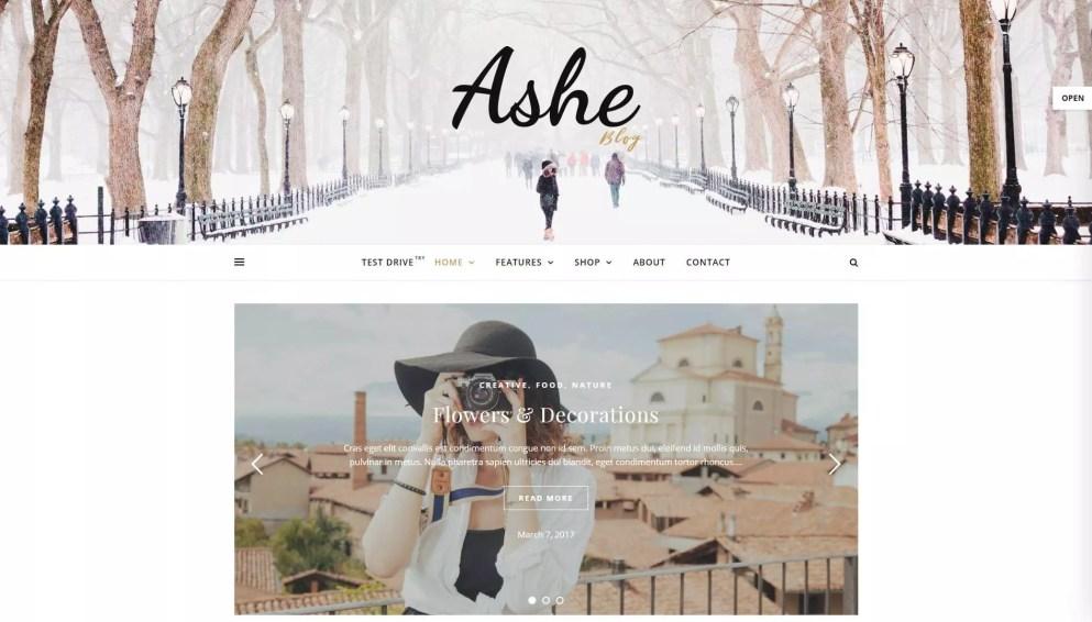 Ashe theme