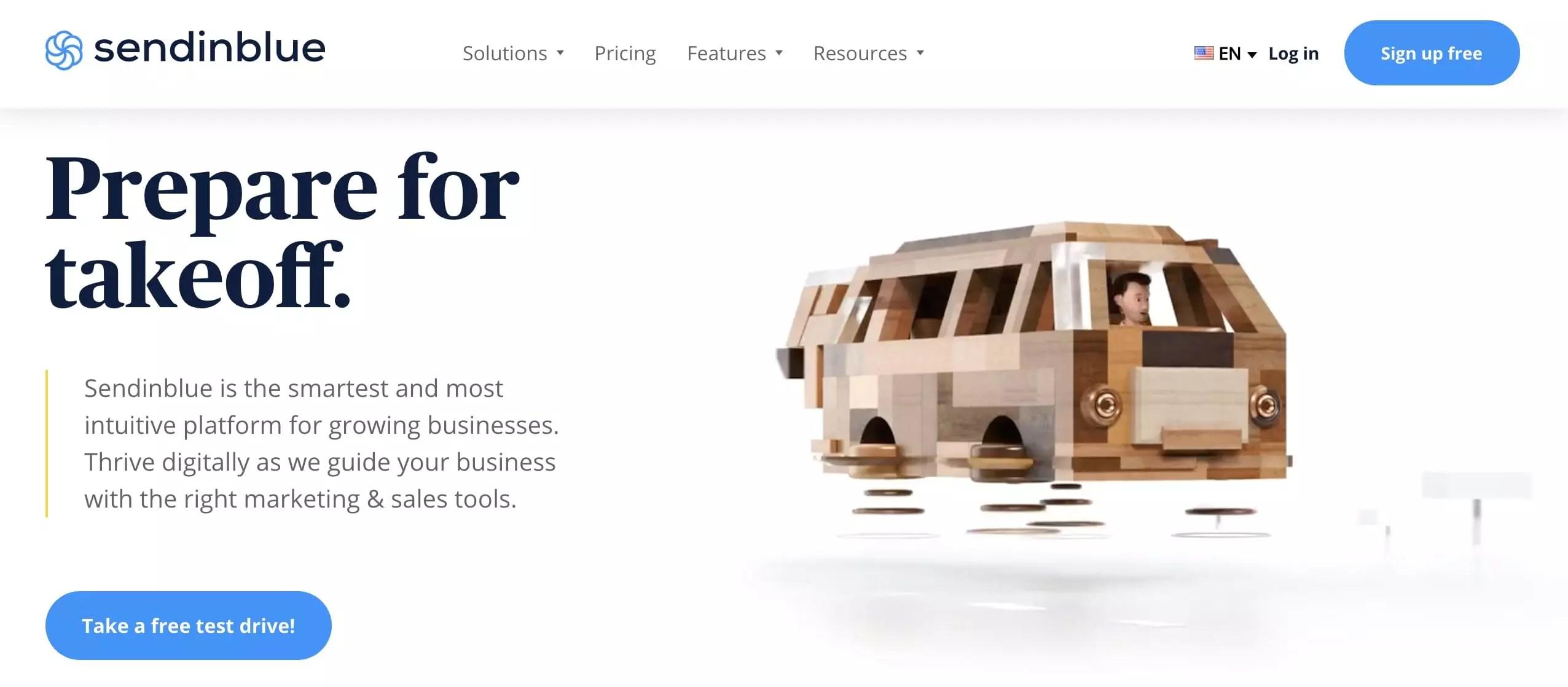 Email marketing automation tool Sendinblue