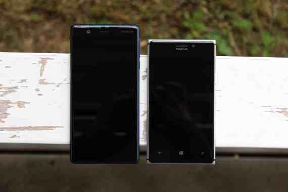 Nokia 3 ja Nokia Lumia 925