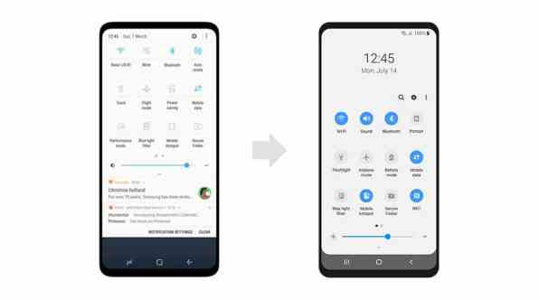Samsung Experience vs. One UI