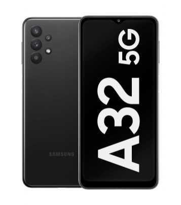 Samsung_Galaxy_A32_5G_SM-A326B_Black_Single-Cut-Out_RGB_klein-1