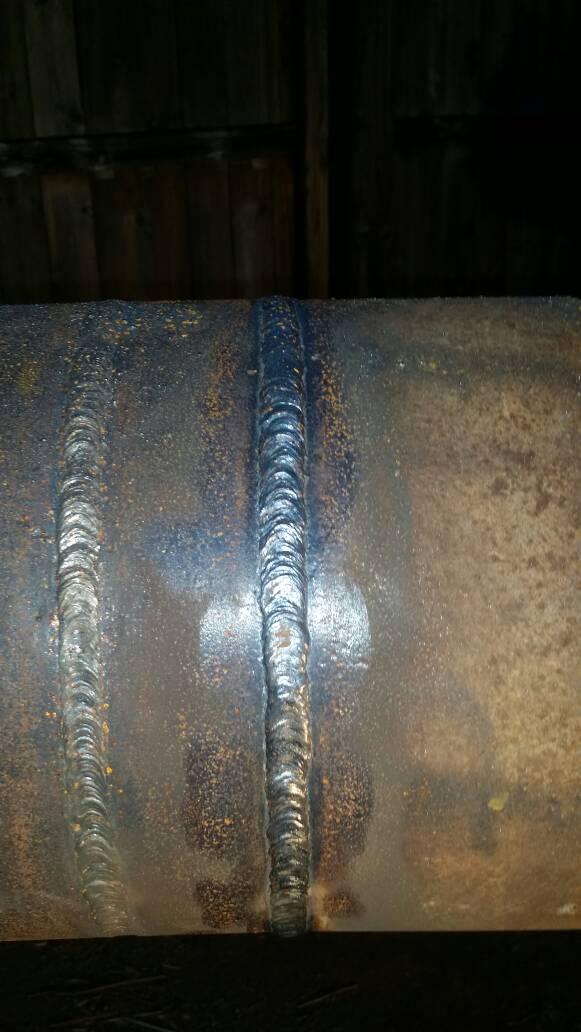 Downhill Welding W 6010 And 8010