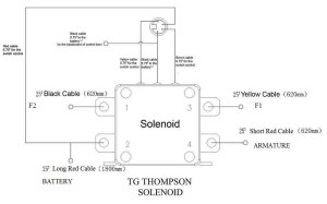 Tg Thompson solenoid and xd9000 winch  Patrol 4x4