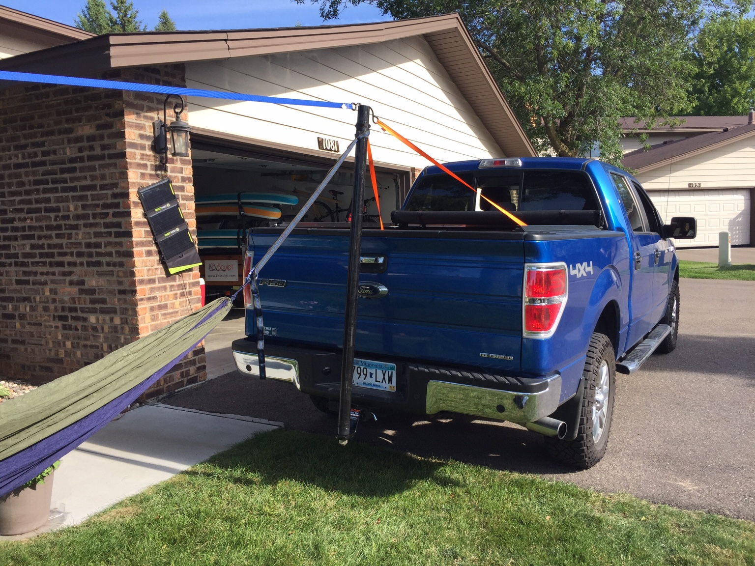 Truck Hitch Hang Tree To Truck Hang One Tree Hang