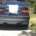 E46 Non Quad Exhaust No Cutting Bmw E46 Fanatics Forum