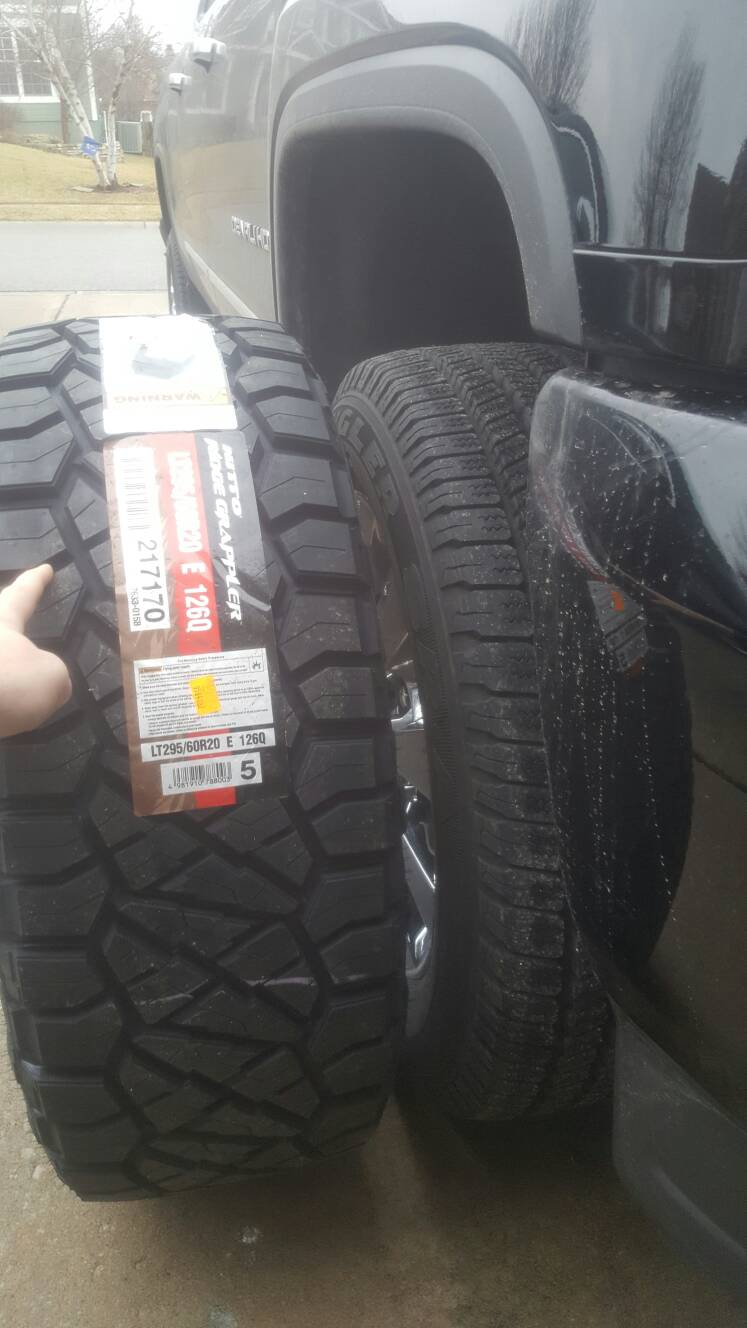 Nitto Ridge Grappler Coming Soon Page 16 Chevy And