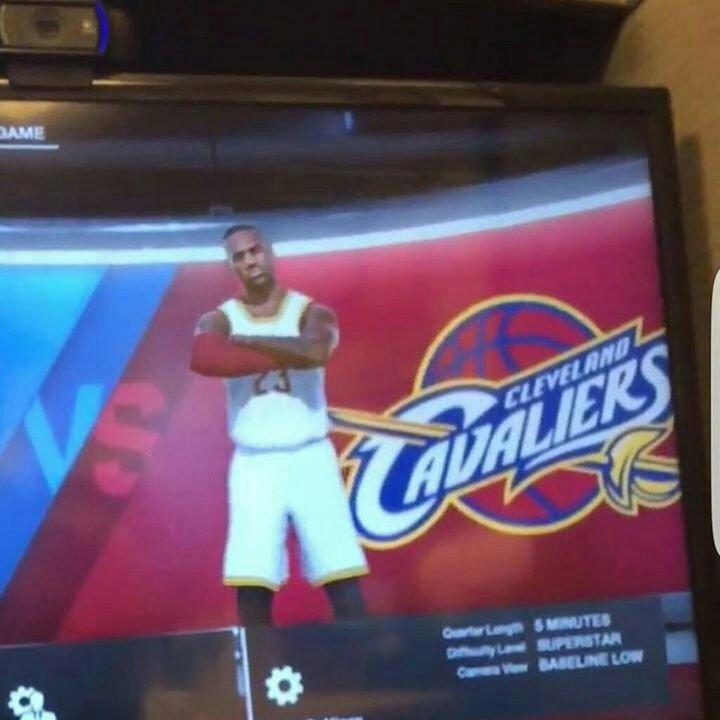NBA Live 18 Leaked Screenshot Of WNBA Amp Lebron James