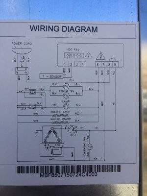 Struggling to understand Atosa refrigerator control circuit